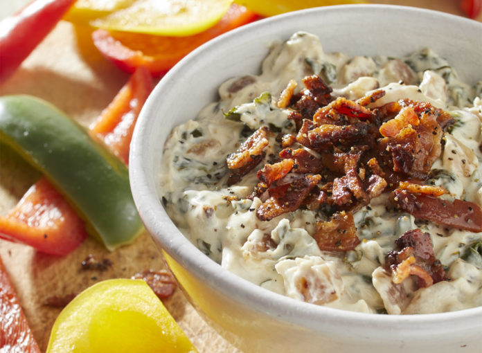 A Creamy Bacon-Spinach Dip Recipe You Won't Believe Is Keto