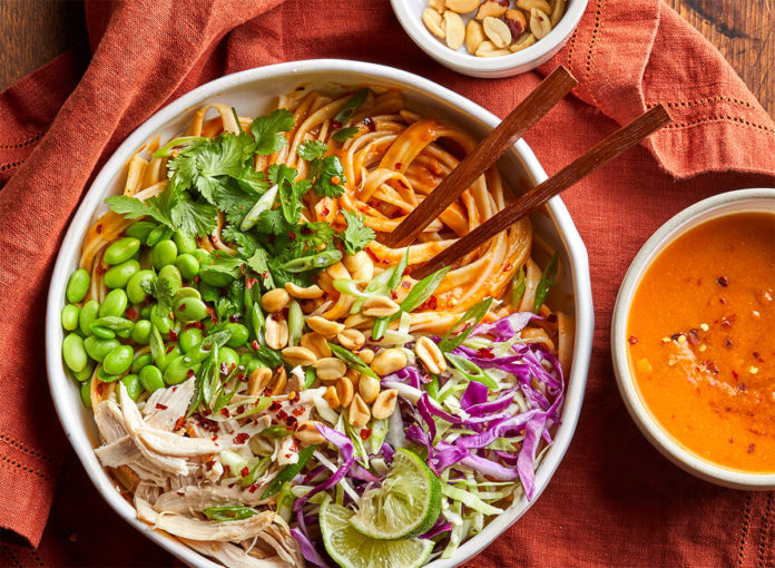 This Pumpkin Version of Pad Thai Is a Creative Fall Dinner You'll Love
