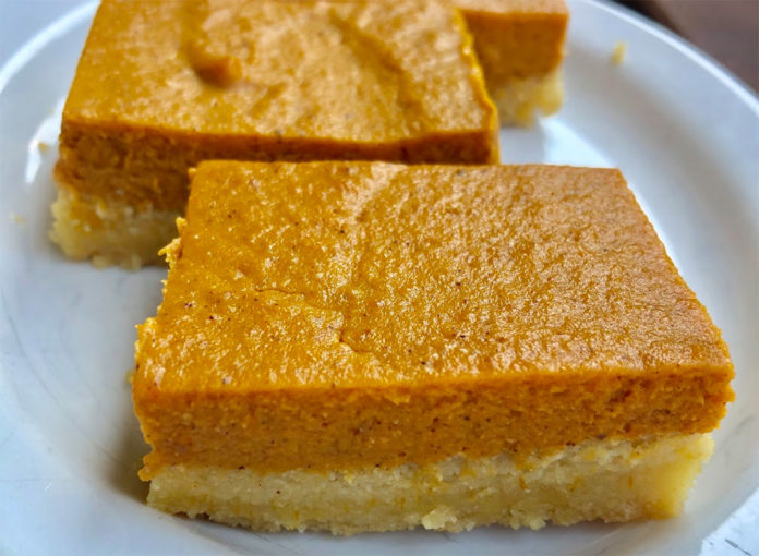 The Keto-Friendly Pumpkin Bars Everyone Will Prefer More Than Pie
