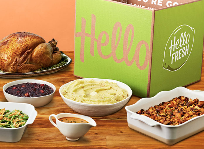 Skip the Grocery Store This Year—HelloFresh Will Deliver All Your Thanksgiving Ingredients