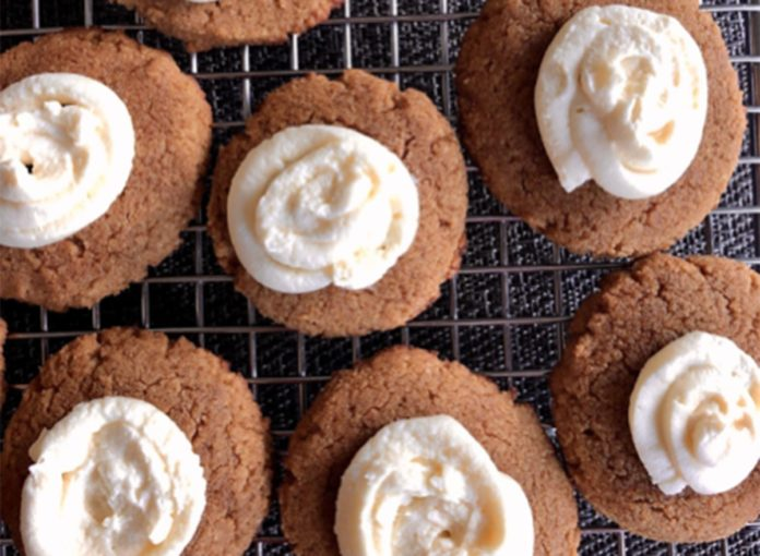 Keto Pumpkin Cookie With Cream Cheese Frosting Recipe