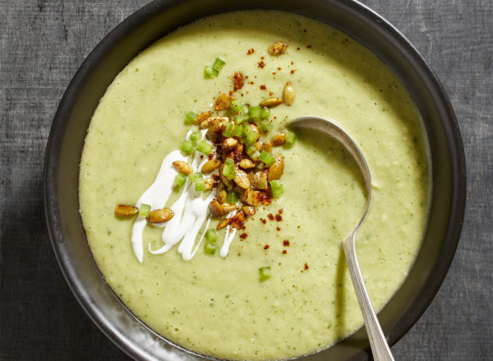 An Easy and Healthy Avocado Soup Recipe That's Keto Diet-Approved
