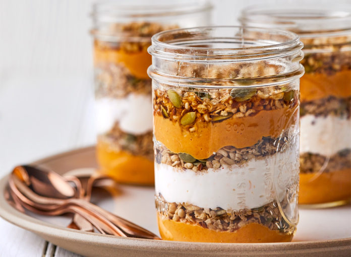 Spicy Pumpkin Parfaits Make Perfectly Portioned Breakfasts for Fall