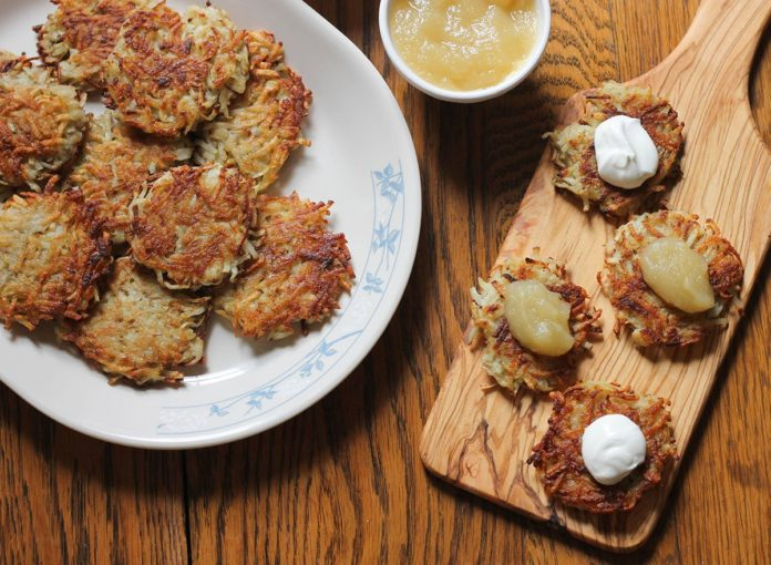 The Best-Ever Potato Latkes Recipe