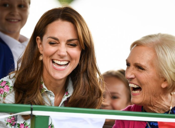 Kate Middleton and Mary Berry Are Filming a Christmas Special