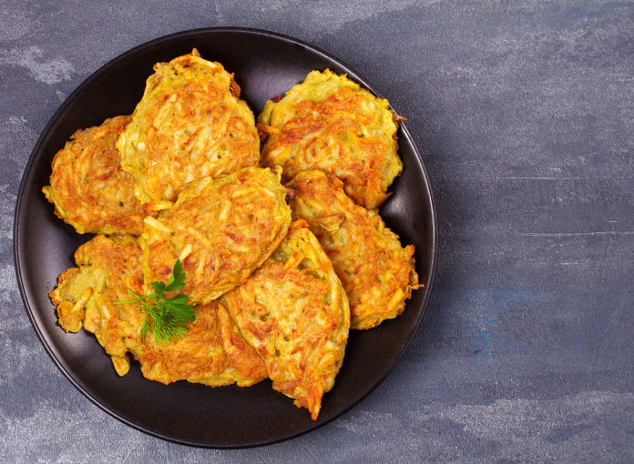Chef Joseph Paulino's Favorite Potato-Apple Latke Recipe