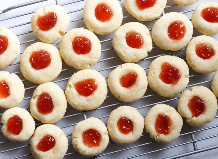 The Only Jelly Thumbprint Cookie Recipe You'll Ever Need