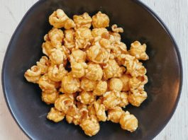 Clean Toffee Popcorn