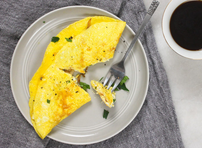 This Is the Single Best Way To Make an Omelet