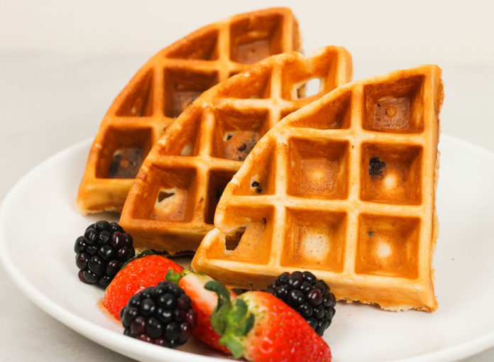 Here's How to Make Tasty, Protein-Packed Waffles