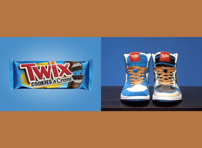 Cookies & Creme Twix Bar Has Officially Returned—This Time With Matching Sneakers