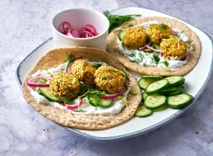 The Perfect Air Fryer Falafel