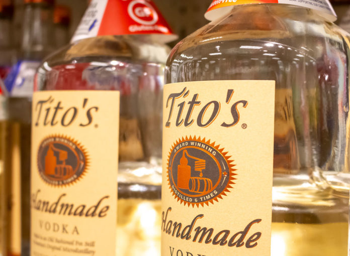 Tito's Warns People Against Making Hand Sanitizer at Home Using Their Vodka