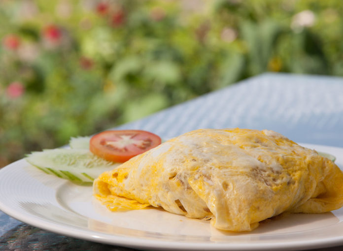 The #1 Most Dangerous Way To Cook An Omelet