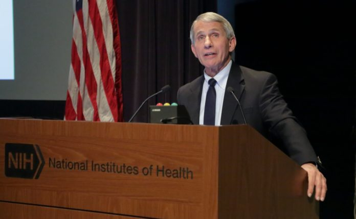 Dr. Fauci Says War on COVID Has Become 'We vs. Them'