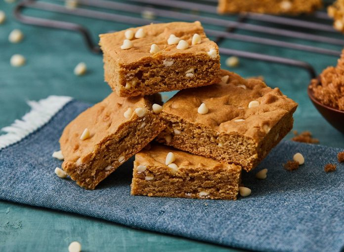 Healthy, Low-Carb Blondies Recipe