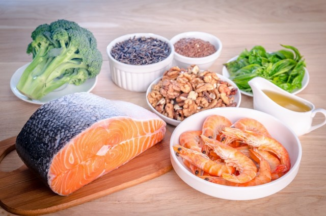 salmon and nuts omega 3 rich foods
