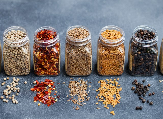 clean out spices