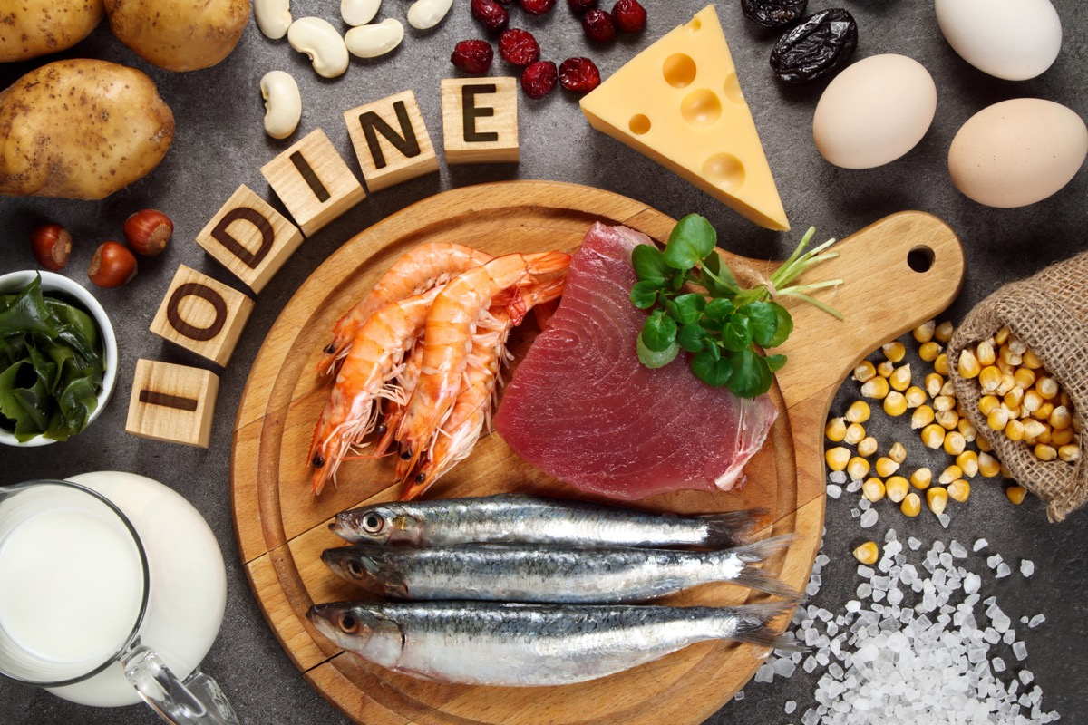 foods rich in iodin